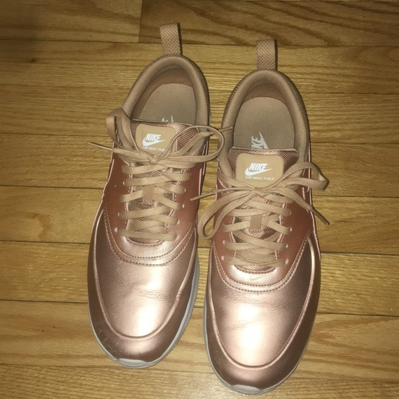 Women's Nike air max Thea Rose gold size 10